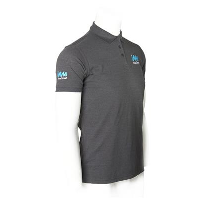 IAM RoadSmart men's polo shirt