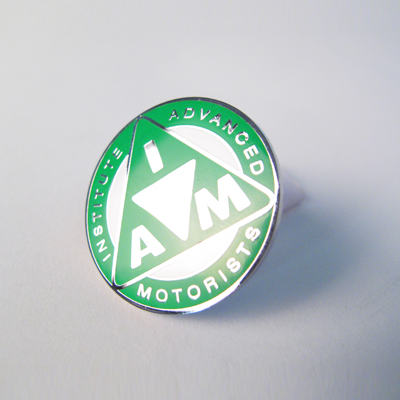 Metal Lapel Badge Green R31