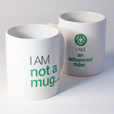 Large tea and coffee mug 'I am not a mug...' R82