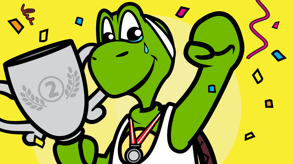 Sporty Tortoise and Trophy-01 (2)