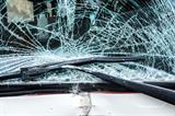 shattered windscreen