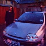 Anjuli and her Clio