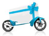 Gift voucher bike