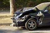 Misc, car crash, smashed front end