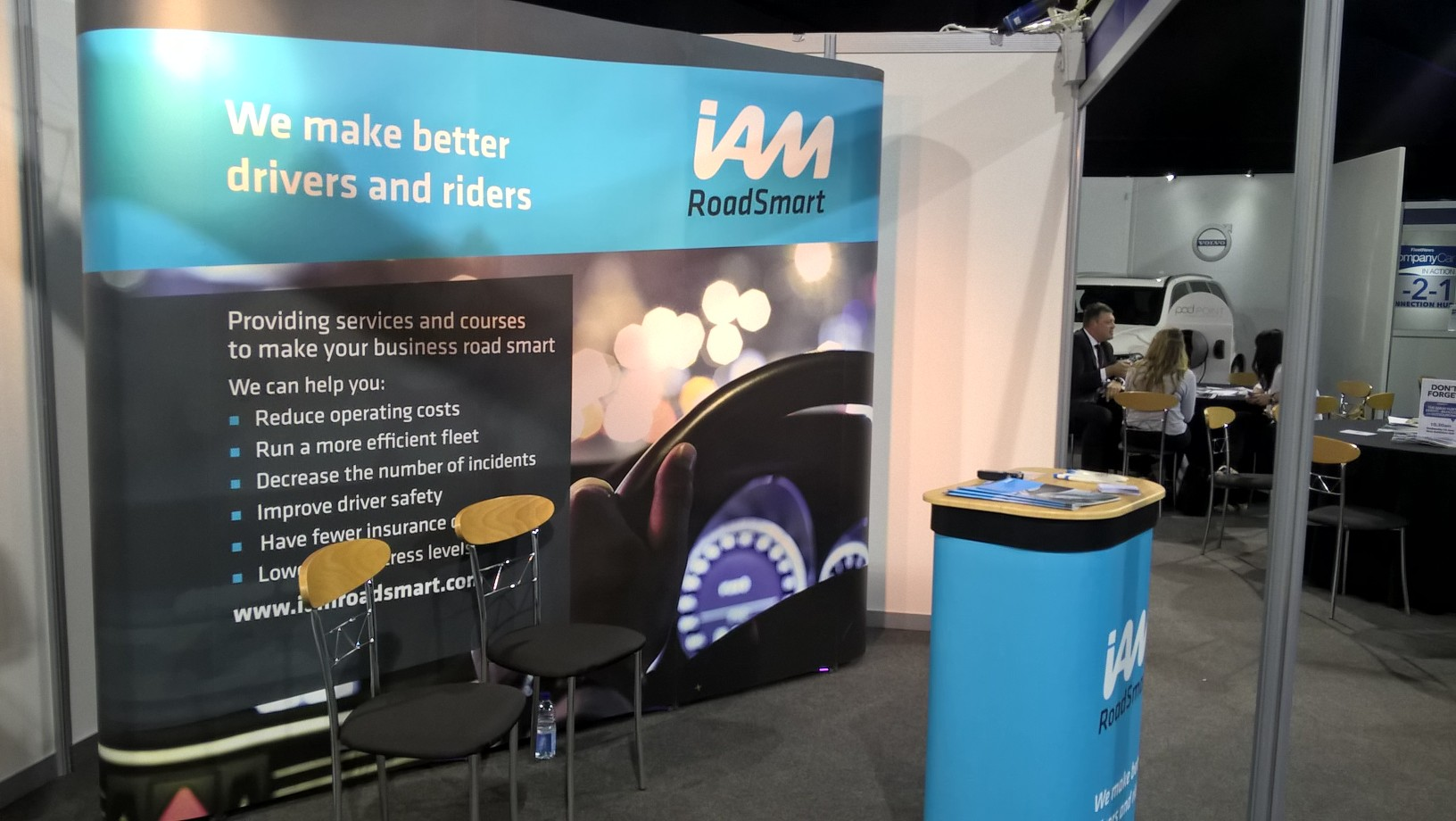 Stand at IAM RoadSmart Trade Show