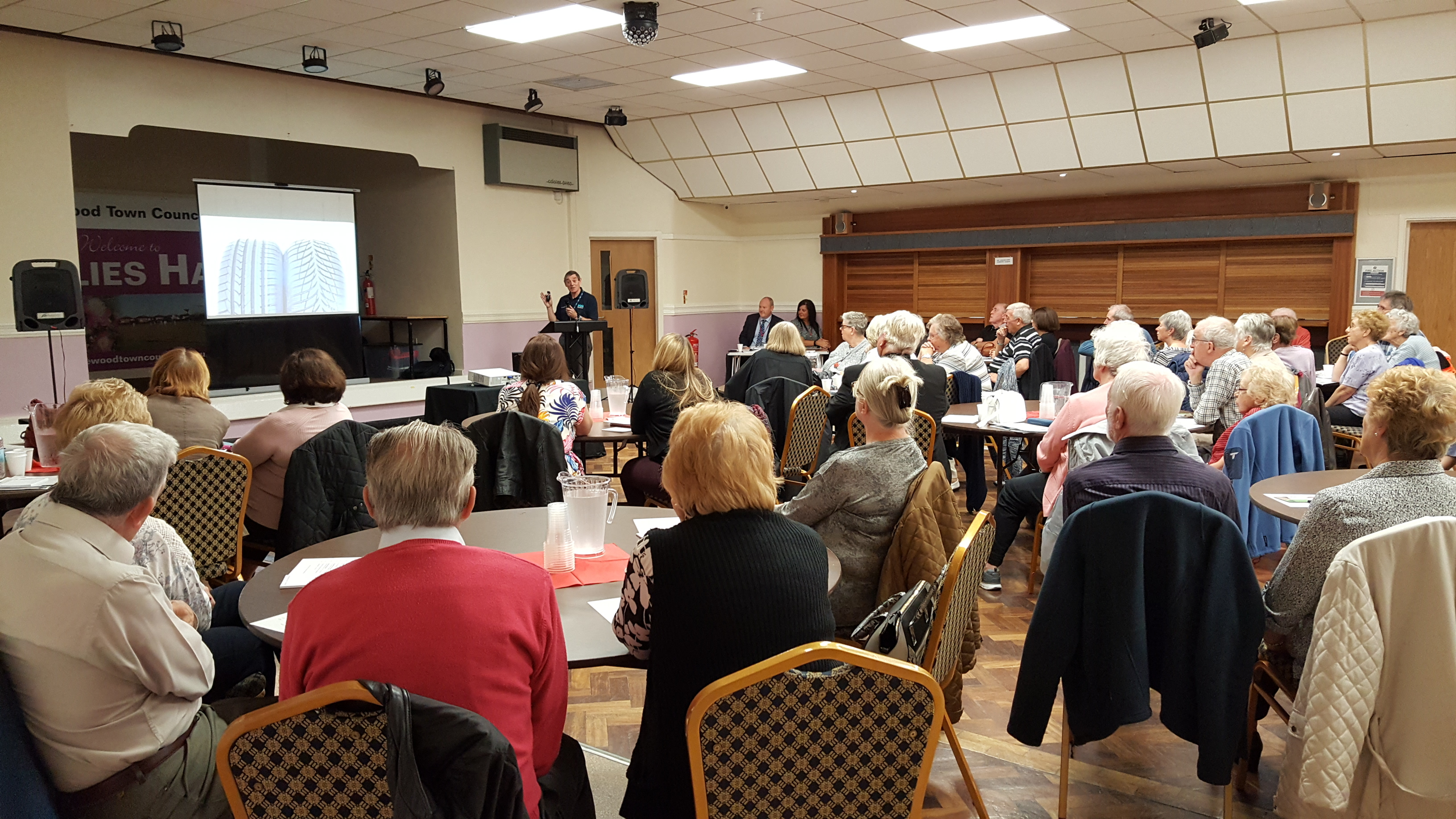 Senior Road Users Event Halewood 19th Sept 2017